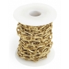 Chain Antique Brass Lead And Nickel Free 12x7mm